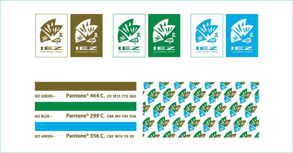 Корпоративные цвета IEZ Primorye