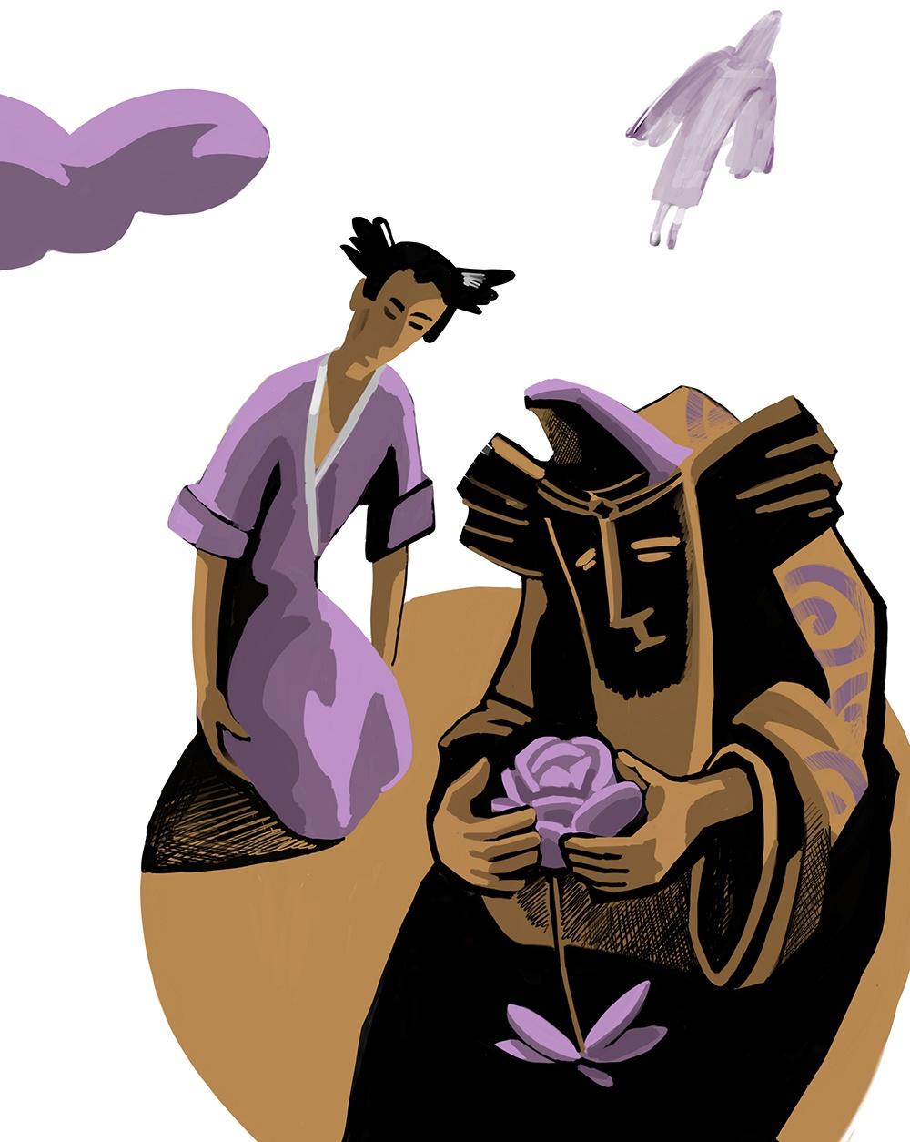 К сказке «Цветок Алазара»