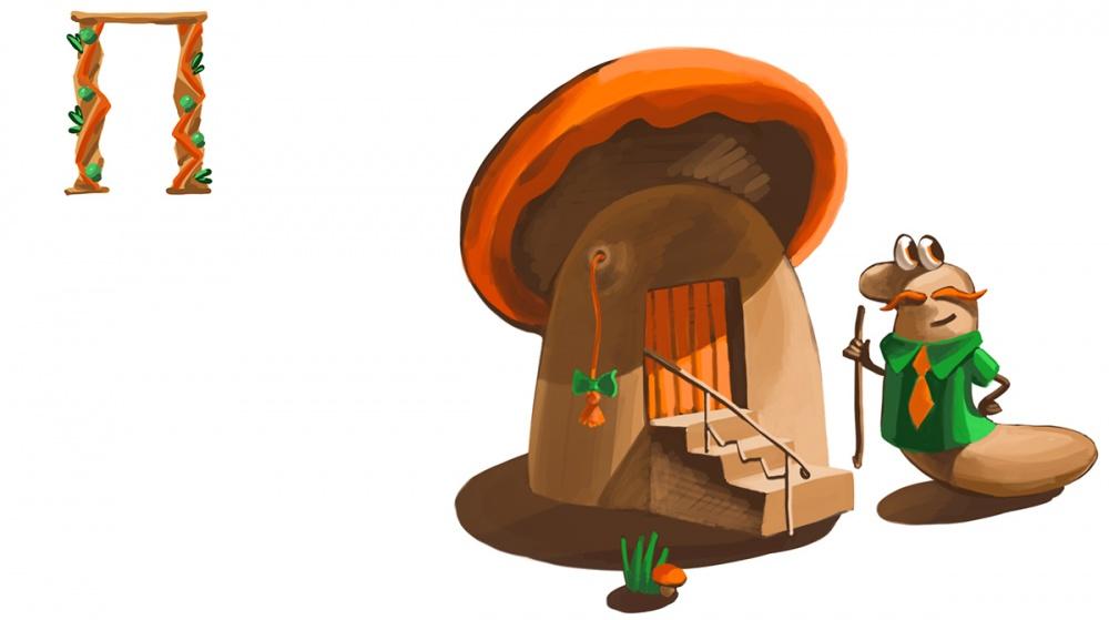 К сказке «Чей гриб»