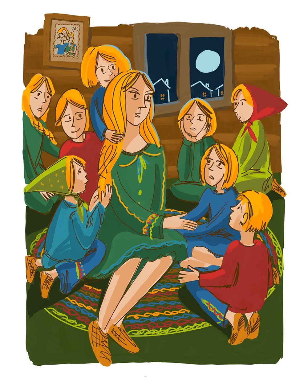 К рассказу «Сказки Маруси-Козы»