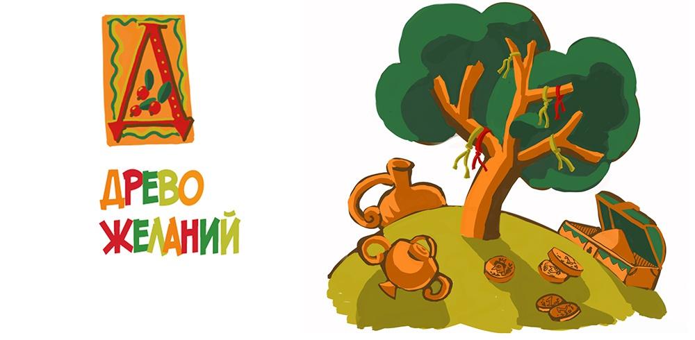 К сказке «Дерево желаний» К сказке «Дерево желаний»